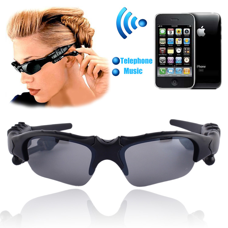 Sports Wireless Bluetooth 4.0 Glasses Headset handsfree earphone Polarized Drivi