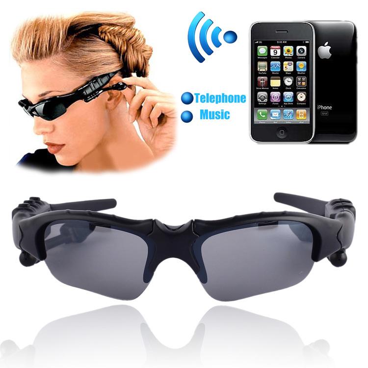 Sports Wireless Bluetooth 4.0 Glasses Headset handsfree earphone Polarized Drivi