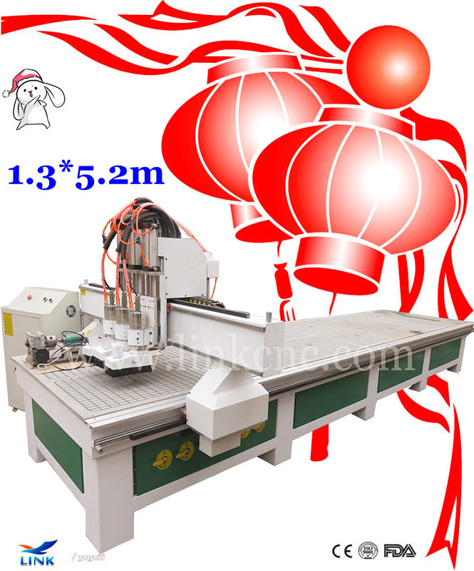 Discount price!! 3.0kw vacuum table Large format woodworking cnc router(China (Mainland))