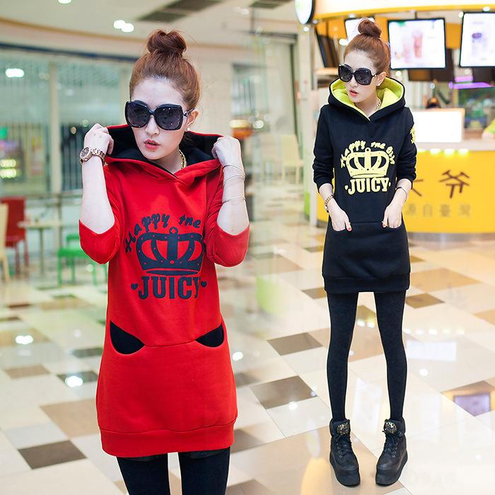 2014 Hoodies Jacket Baseball Women Cotton Long Sleeve Pullovers 5D61