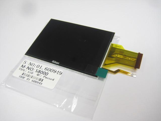 Camera lcd screen display with backlight For Nikon S8000(Hong Kong)