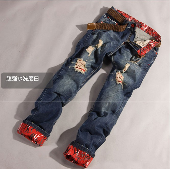 designer ripped jeans for men - Jean Yu Beauty