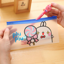 Buy Kawaii Potato Rabbit PVC Pencil Case Stationery Storage Organizer Bag School Office Supply Escolar B6/A5 for $1.13 in AliExpress store