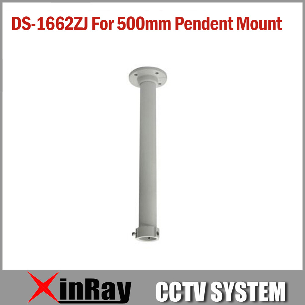 500mm Pendent Mounting Bracket 1662ZJ  for HIK Indoor or Outdoor Speed Dome IP CCTV Camera Aluminum Alloy  <br><br>Aliexpress