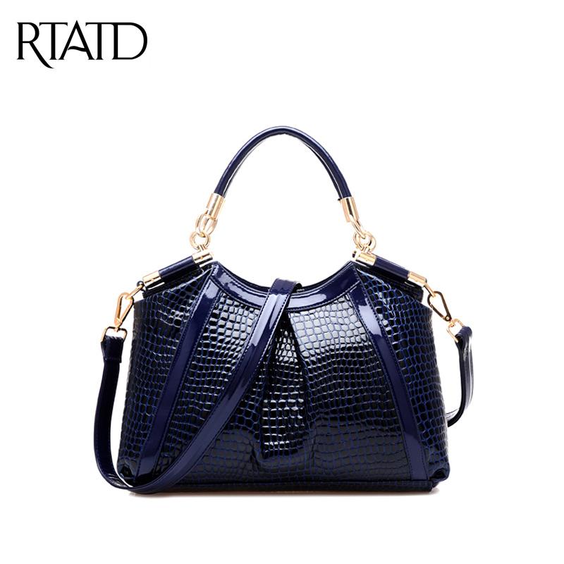 Hot Selling New Brand Crocodile Vintage Women's Messenger Bags Fashion European Style Women Shoulder Bag Versatile Handbag QF67(China (Mainland))