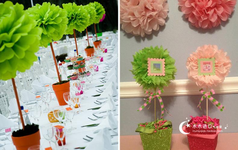 Цветы из бумаги для украшения свадьбы своими руками