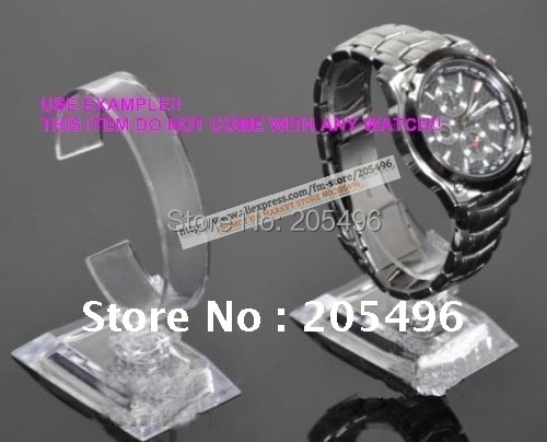 Free shipping! Acrylic Watch Display rack , Clear View Watch Display Stand Holder , 2012 New arrival , wholesale & Retail