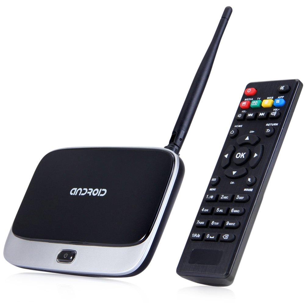 Full HD 1920 x 1080P CS918 1G 8G Amlogic S805 ARM Cortex-A5 Quad Core Android 4.4.2 Smart TV Box Support USB Spdif HDMI OTG Port(China (Mainland))