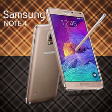 Top Sale Cell Phones for Samsung Galaxy Note 4 Mobile Phone 5.7″ Screen Dual Core Android Unlocked Smartphone