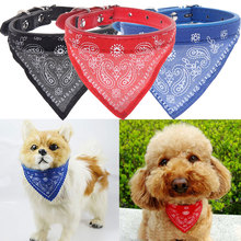 2016 Red Blue Black S/M/L/XL Cat Dog Supplies Pet Products Puppy Dog Collar Bow Tie Adjustable Triangle Bandanna Scarf(China (Mainland))