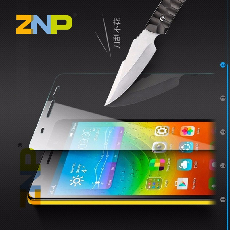 9H Tempered Glass film for Lenovo A8 A606 A536 A916 S60 S90 S850 A2010 A6000 VIBE X2 K3 NOTE Transparent Screen Protector