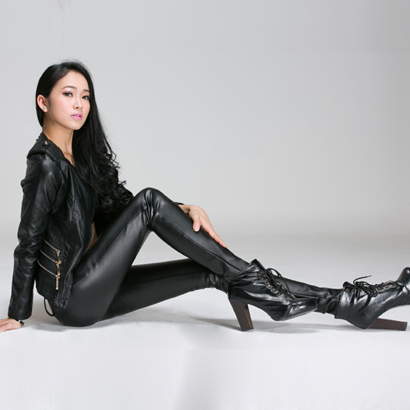 the gallery for gt leather harem pants men