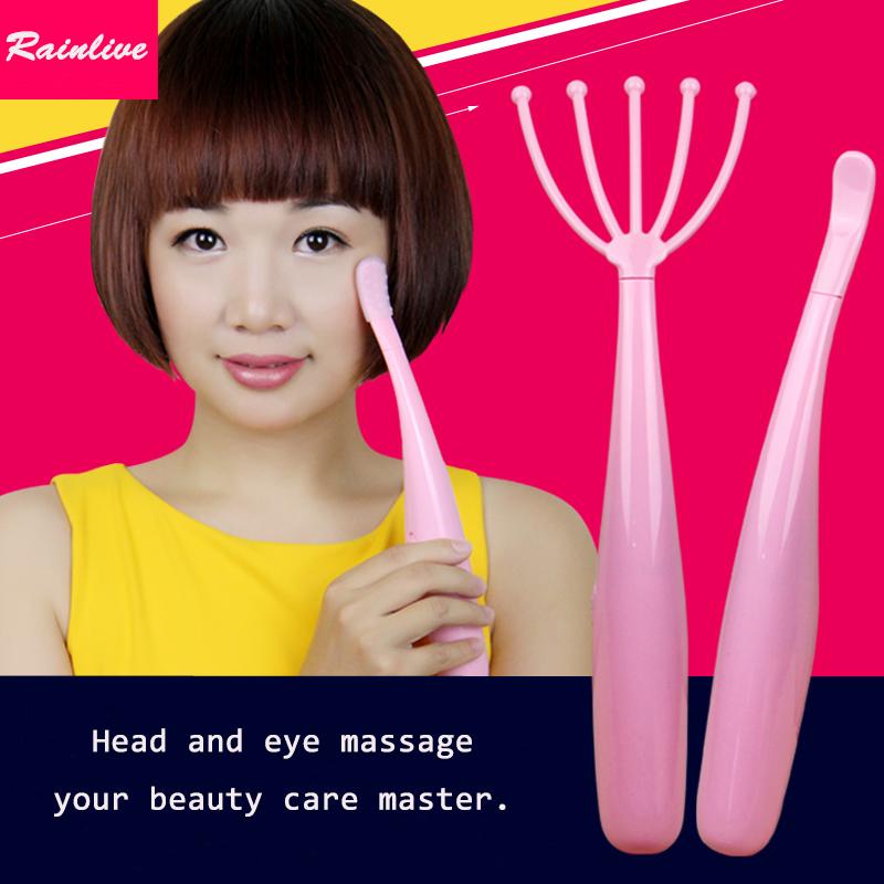 Head eye massager Electric head massage instrument Eye massage stick Vibration massage women's beauty care master(China (Mainland))