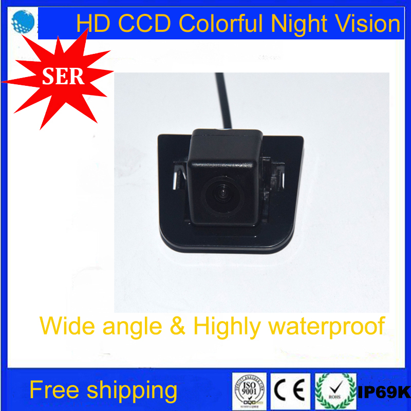 FreeShip HD Night Vision for Toyota Prius Car Rear View Reverse Camera Backup parking aid monitor rearview system Reverse Camera(China (Mainland))