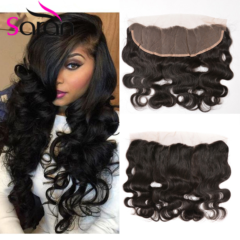 7A Peruvian Lace Frontal Ear To Ear Closure Body Wave 13x4 Custom Lace Frontals For Sale Cheap Peruvian Frontal Lace Closure 1PC(China (Mainland))