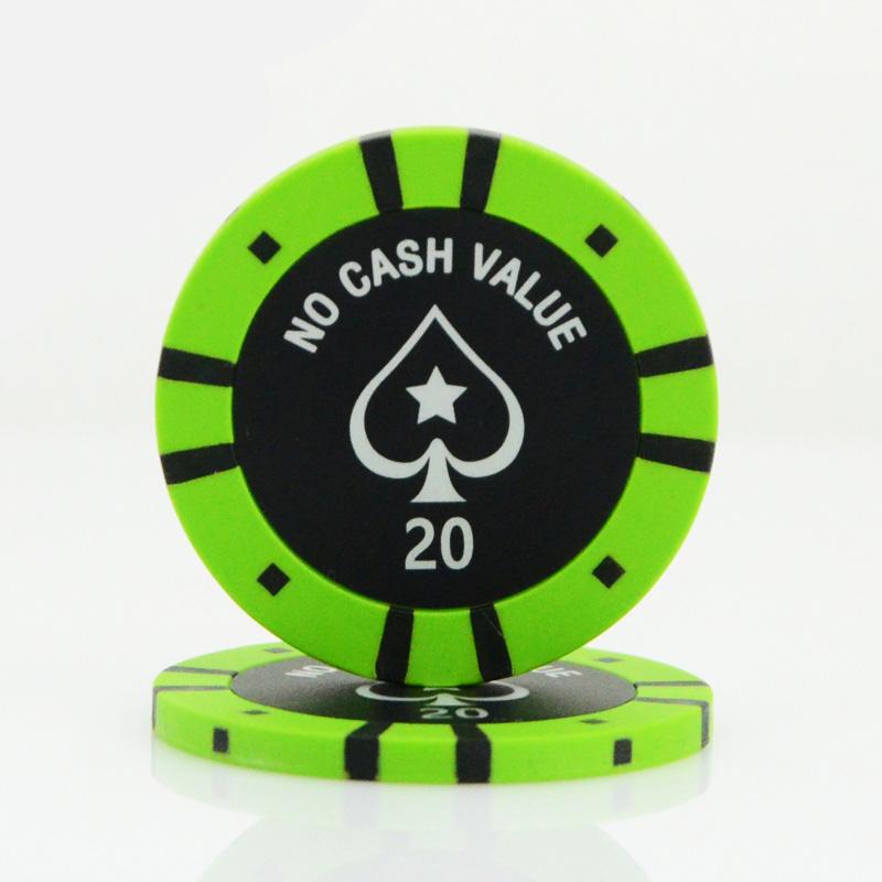 casino poker chips value