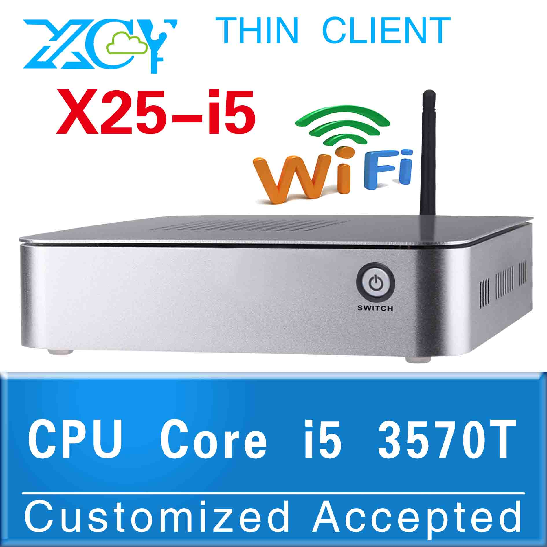 linux pc pc station wifi all in one pc X25-I5 3570T Video Resolution:1920*1080 High performance(China (Mainland))