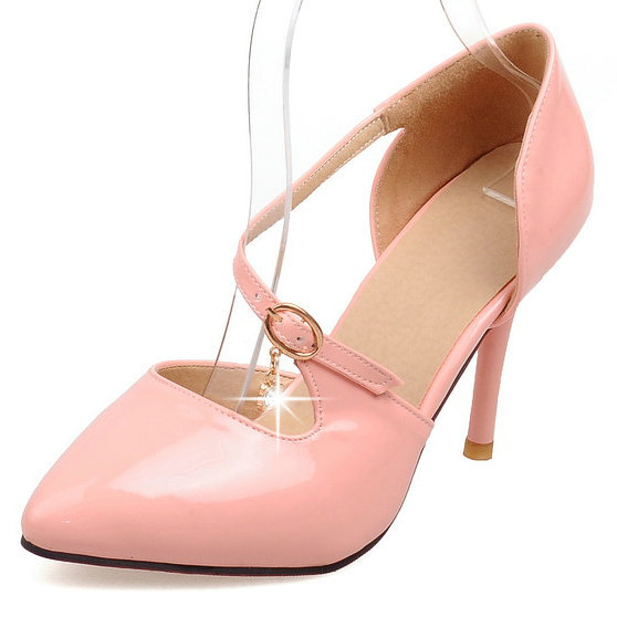 High Heel Shoes Woman New Fashion Cutouts Buckle Platform High Heeled Shoes Pumps Red Buttom Shoes Women Wedding Party Pumps