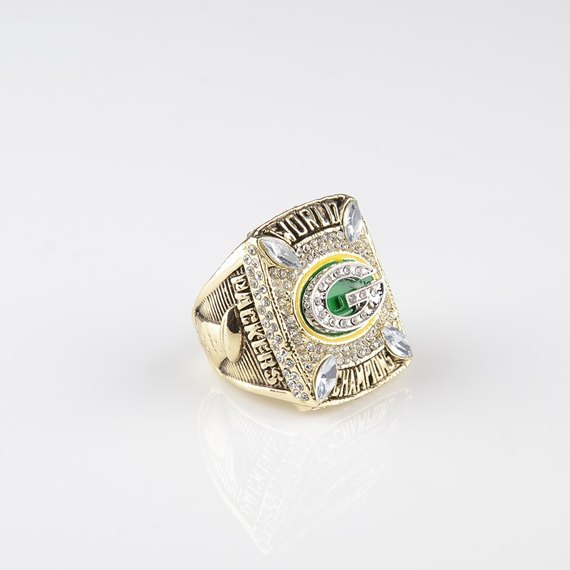 Replica 2010 Green Bay Packers Super Bowl Championship Ring Football Alloy Sport Rings Men Best Gift Wholesale Size 8 to 14 HC35(China (Mainland))