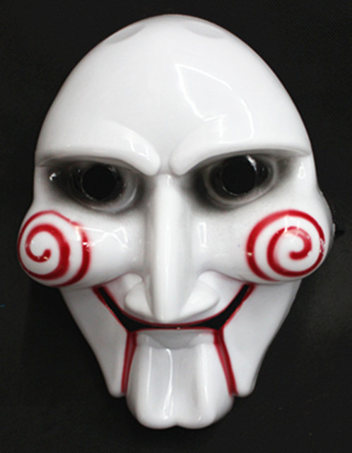 Chainsaw Massacre For Party Cosplay Halloween Saw Billy Puppet Masquerade Horror Mask Scary Mask For Adults
