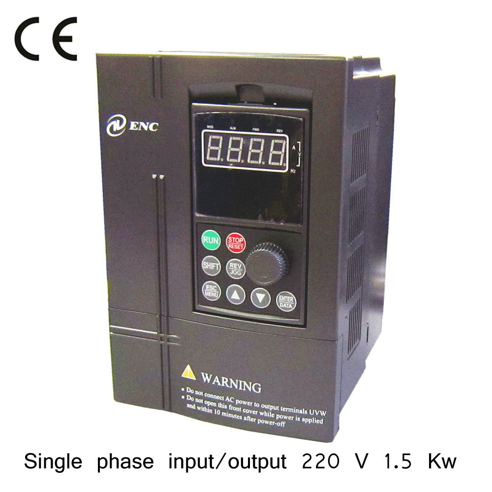 1 5kw 220v single phase input and 220v single phase output for How to convert 3 phase motor to single phase 220v