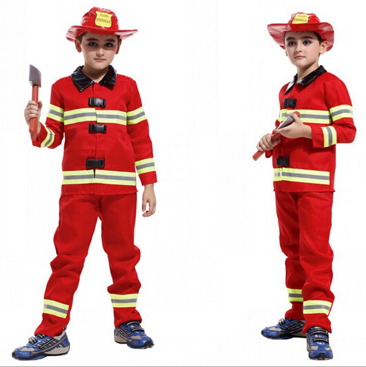 fireman costumes boys play stage children