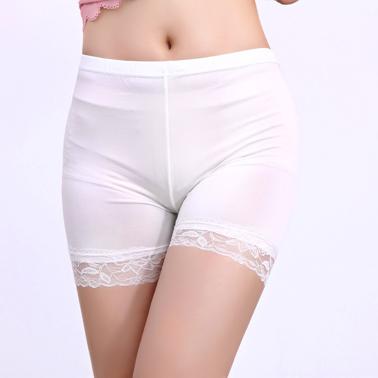 Anti emptied security pants women shorts wholesale ice Silei Si-thirds Leggings