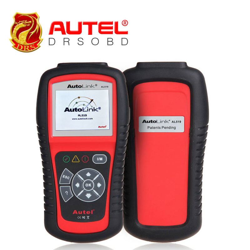 [3pcs/lot] Autel AutoLink AL519 OBDII/EOBD Code Reader diagnosis 10 modes Works on ALL 1996 and newer vehicles (OBDII & CAN)(China (Mainland))