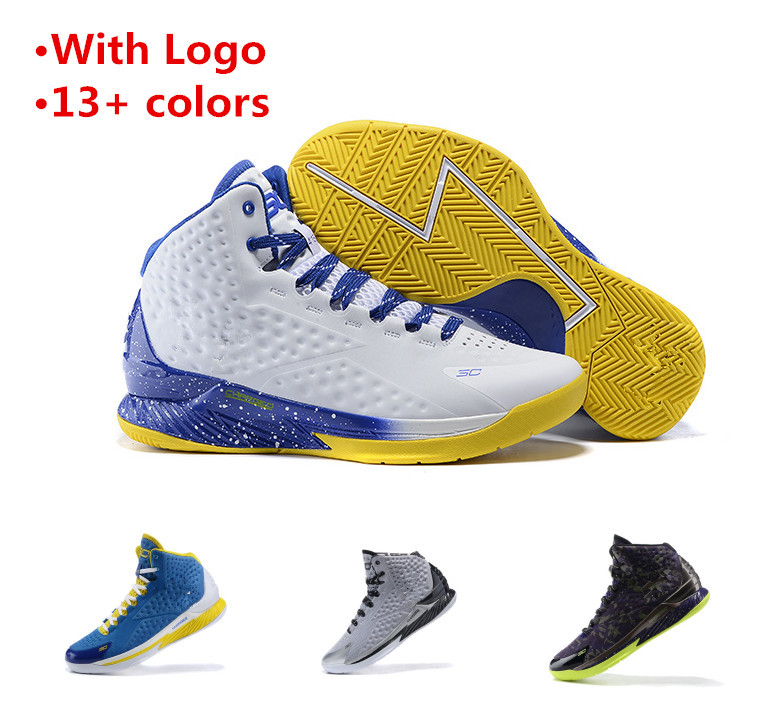New Arrival men curry basketball shoes curry one 1 size 8-12 curry shoes free shipping(China (Mainland))
