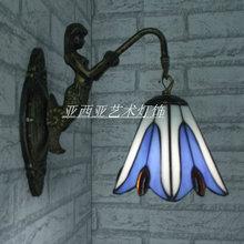 2013 new arrival   tiffany wall lamp merlons mirror light  (China (Mainland))