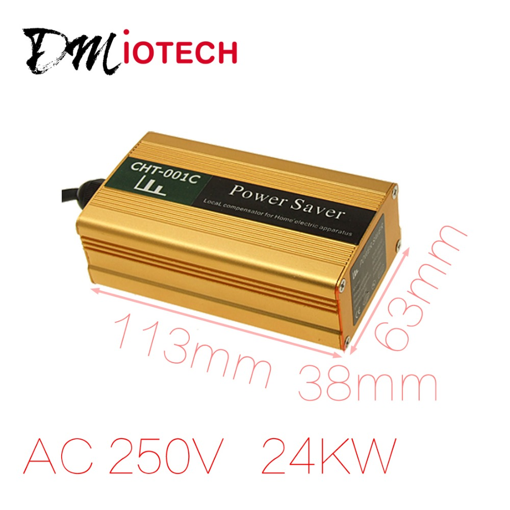 US Plug 90-250VAC 24KW Power Saver Save Cost Electricity Bill less 35% Discount 50(China (Mainland))