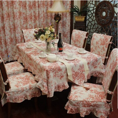 Bamboo fabric table cloth tablecloth fashion dining table cloth dining table chair cover fabric tables and chair covers set(China (Mainland))