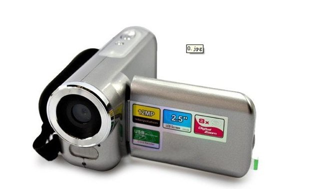 Free Shipping DV138 Camcorder 2.0MP CMOS 12MP Enhanced With 2.5inch LCD Display video camera