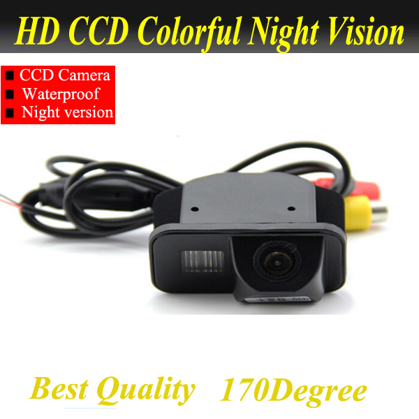 For Toyota Avensis T25 T27 car reversing rear view camera backup auto reverse camera system with parking line water proof(China (Mainland))