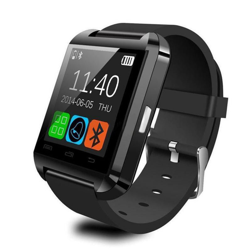 Wearable Devices U8 Smart Bluetooth inteligent digital WristWatch Men women U Watch montre connect For Android phone With Box(China (Mainland))