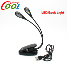Adjustable Goosenecks Clip LED Lamp for Music Stand and Book Reading Light(China (Mainland))