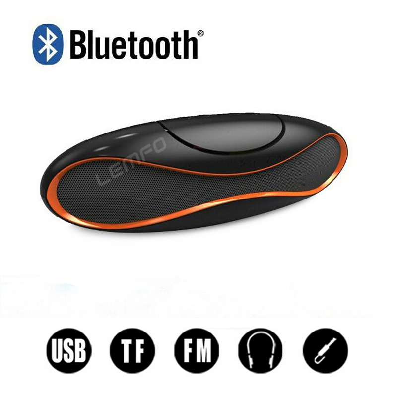 Bluetooth Speaker Wireless QFX Portable Rugby Music Sound Box Subwoofer Loudspeakers TF/AUX/USB/FM Built-in Microphone New - LEMFO E-Smart Team store