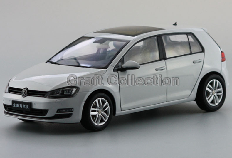 Polar White 1:18 Volkswagen Golf TSI 7 Hatchback Alloy Model Diecast Show Car Classic toys Scale Models Edition Limit(China (Mainland))