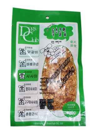 Fragrant chicken protein nibs 100g dog snacks dog food mixed with chicken, chicken powder loose(China (Mainland))