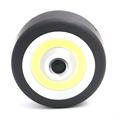 Super Mini COB LED Flashlight Round Circular Portable COB Flash Light Lamp With Magnetic Base Hanging