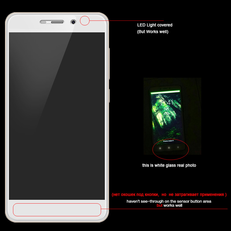Lephee Xiaomi Redmi 4 pro prime 9H Hardness Tempered Glass Film + 3D carbon fiber soft edge Full Cover Screen add retail package