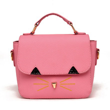 Japan and South Korea trend of the new 2016 Ms. Messenger bag wild cat mini portable shoulder bag