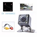 2017 Universal Car rear view camera front camera with 4 IR infrared Night Vision Car Backup