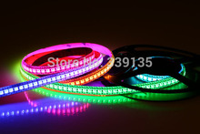 Buy WS2811 144 led strip ws2812 pixel light;144leds/m 144pcs WS2811 IC built-in,2M/roll,DC5V,White PCB,Waterproof IP65 for $45.89 in AliExpress store