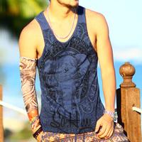 Loose Men Tank Top Gym Fitness Singlets Brand Mens T Shirt Sleeveless Sports Gasp Hip Hop