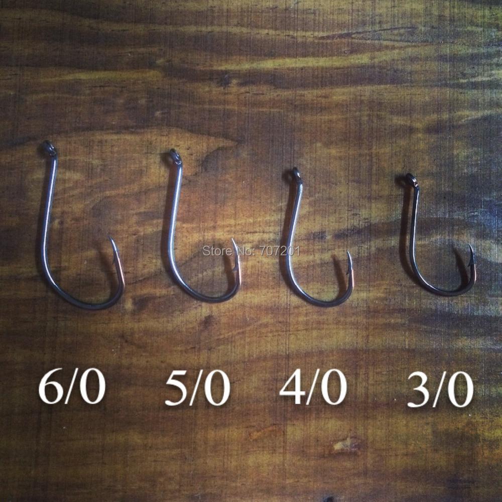 Крючок для рыбалки 200pcs e3/0 4/0 5/0 6/0 M & X ,