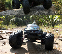 New Arrival RC Car 9115 2.4G 1:12 1/12 Scale Rock Crawler Car Supersonic Monster Truck Off-Road Vehicle Buggy Electronic Toy(China (Mainland))