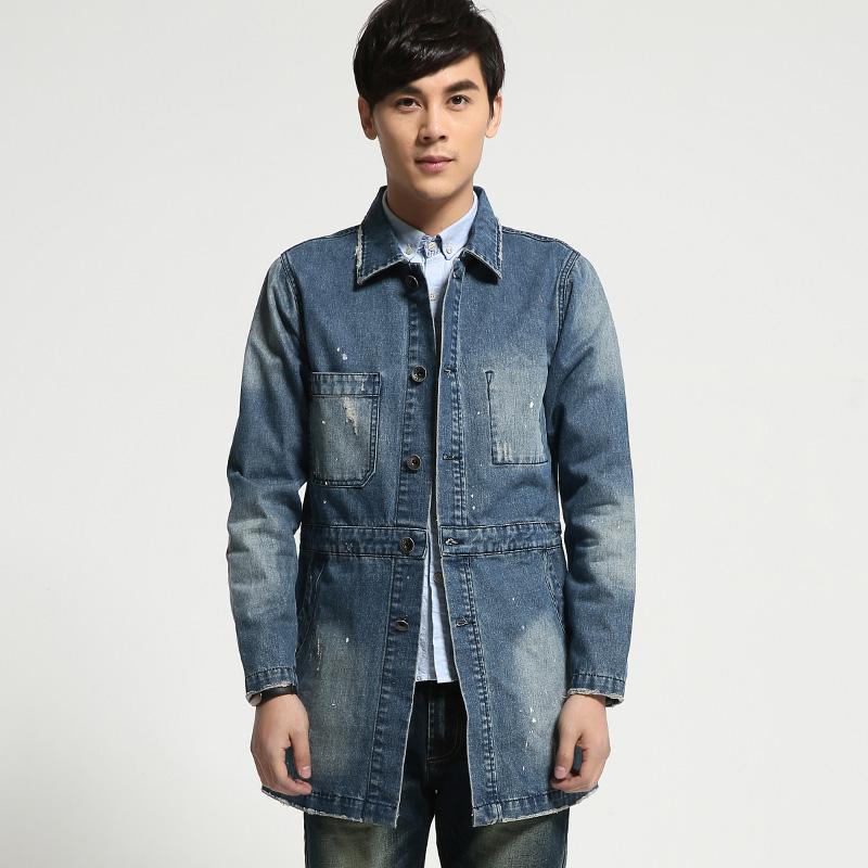 Online Get Cheap Long Denim Coat for Men -Aliexpress.com | Alibaba