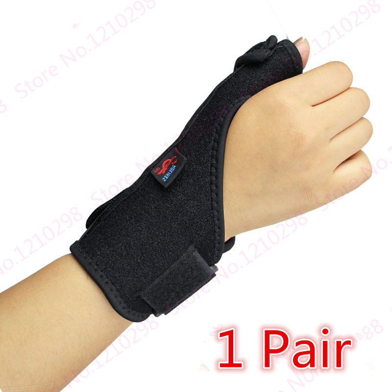 Steel Plate Support Anti Sprain Sport Wrist Guard Weight Lifting Bars Wrist elasticity Springs Support Thumb Wrist Wrap Bracer(China (Mainland))