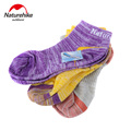Naturehike 3 pair Men Women Sports Socks Basketball Cycling Sock Breathable Road Bike Socks Calcetines Ciclismo